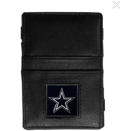 Dallas Cowboys Ladder Leather Wallet