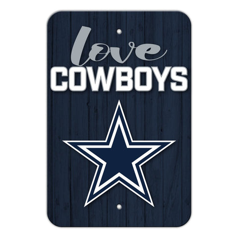 Dallas Cowboys LOVE Sign