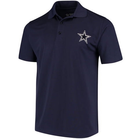 Dallas Cowboys Mens Navy Logo Premier Polo
