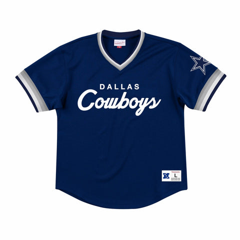 Dallas Cowboys Mens Jersey Mitchell & Ness Special Script Mesh