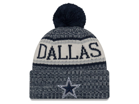 Dallas Cowboys Beanie New Era 2018 Sideline Official Sport Knit Hat