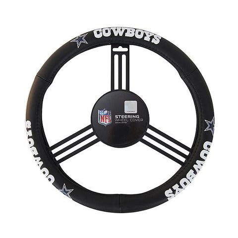 Dallas Cowboys Auto Leather Steering Wheel Cover