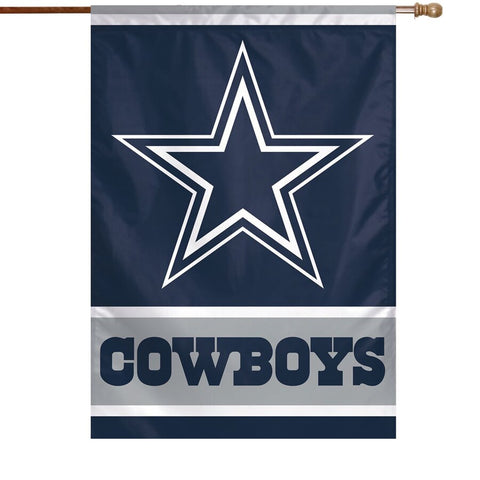 "Dallas Cowboys 28"" x 40"" Vertical Flag"