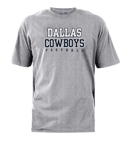 Dallas Cowboys Men's Practice T-Shirt Grey