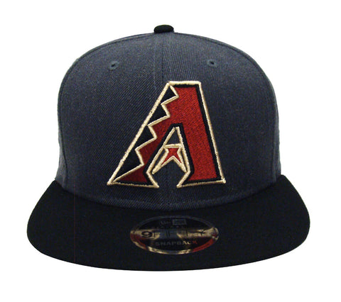 Arizona Diamondbacks Snapback New Era Heather Graphite Cap Hat Charcoal Black
