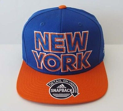 ab8729dc09f98 New York Knicks Snapback Adidas Fast Break Cap Hat