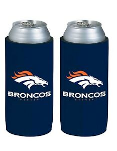 Denver Broncos Tall Boy 24oz Can Holder Navy