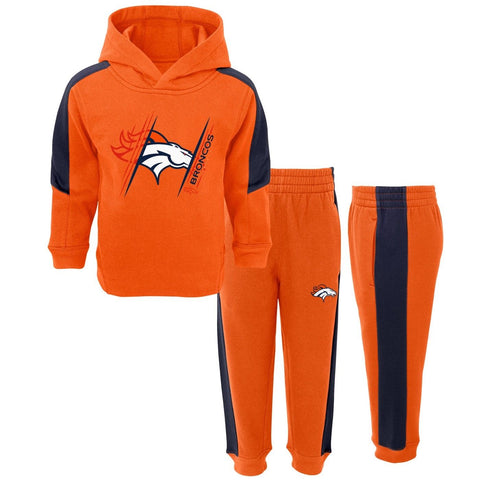Denver Broncos Kids Sweatshirt & Pants 2-Piece Fleece Set