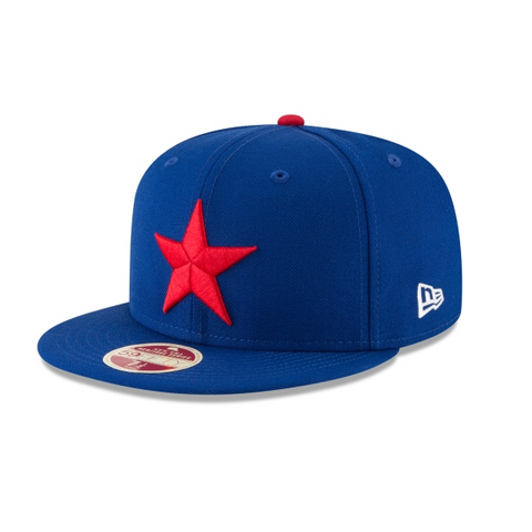 Detroit Stars Fitted 59Fifty New Era Est. 1920 Negro League Wool Classic Blue Cap Hat