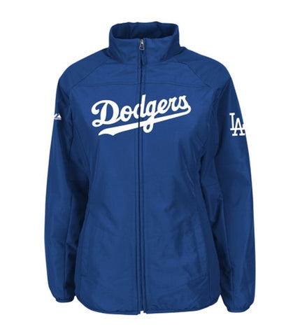 Los Angeles Dodgers Infant (12M- 24M) Majestic AC Double Climate Full Zip Jacket