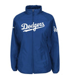 Los Angeles Dodgers Infant Majestic AC Double Climate Full Zip Jacket