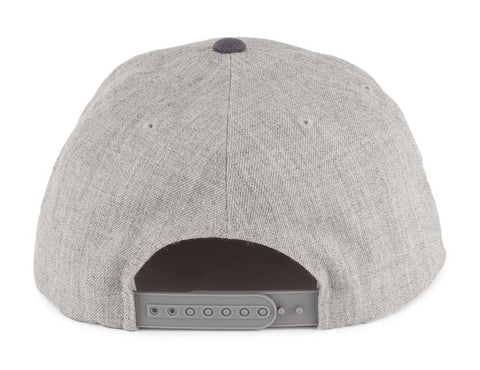 1caa8fbb51bd5 ... germany brixton supply snapback wheeler cap hat grey charcoal e8c14  d3a43