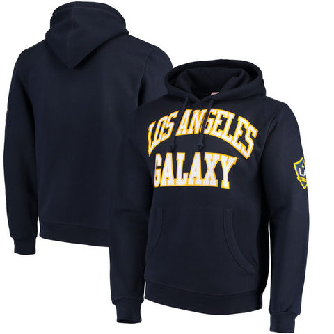 Los Angeles Galaxy Mens Mitchell & Ness Start of Season Pullover Hoodie