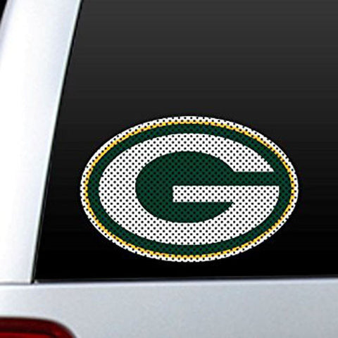 Green Bay Packers Decal Logo Auto Window Film 12""