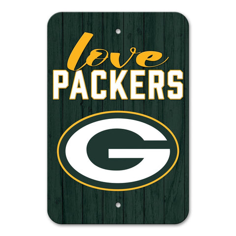 Green Bay Packers LOVE Sign