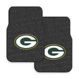 Green Bay Packers 2-Pack Vinyl Car Mat Set