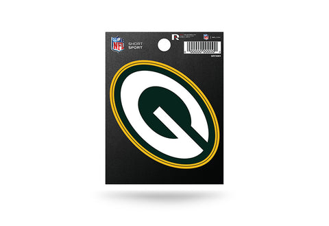 Green Bay Packers Small Sticker Short Sport Set of 2