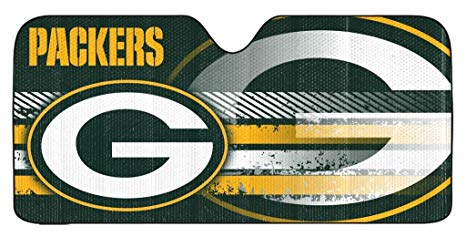 Green Bay Packers Auto Sun Shade New