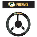 Green Bay Packers Auto Suede Steering Wheel Cover