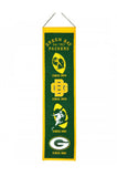 Green Bay Packers NFL Heritage Banner