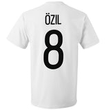 Germany Men's Adidas #8 Mesut Özil Player T-Shirt