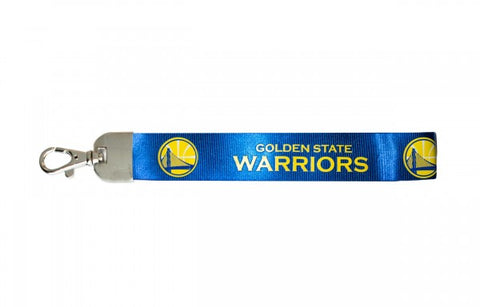 Golden State Warriors Keychain Wristlet Lanyard