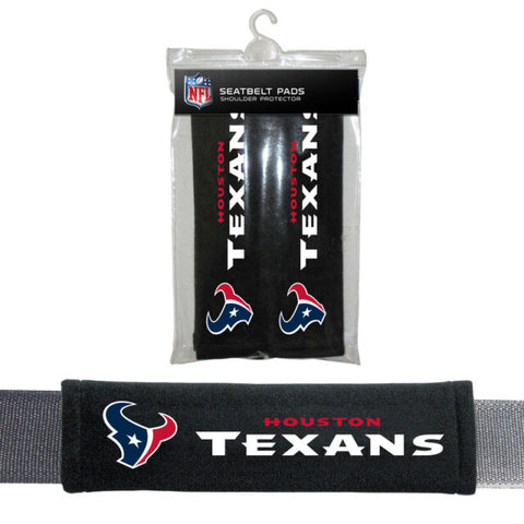 Houston Texans Seat Belt Shoulder Pad Covers