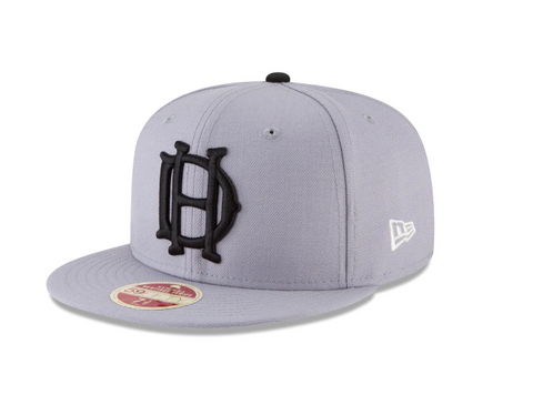 House of David Fitted 59Fifty New Era Est. 1903 Negro League Wool Classic Grey Cap Hat