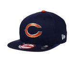 Chicago Bears New Era ORIGINAL FIT 2015 Draft Snapback Cap Hat Navy