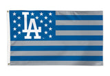 Los Angeles Dodgers 3' X 5' Stars & Stripes Deluxe Flag