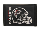 Atlanta Falcons Nylon Trifold Wallet