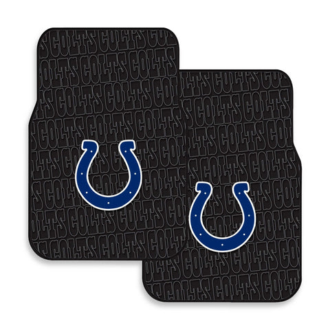 Indianapolis Colts 2-Pack Vinyl Car Mat Set