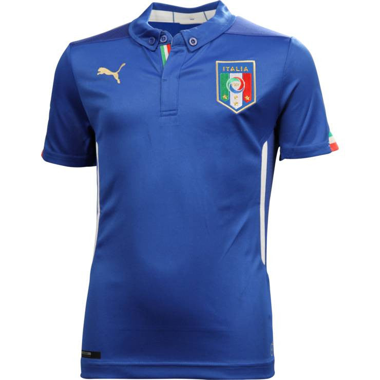 official photos 8a340 54164 Italy Mens Jersey 2014 World Cup Puma Blue