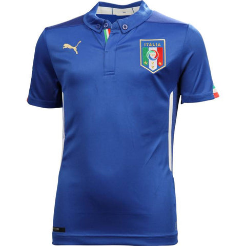 Italy Mens Jersey 2014 World Cup Puma Blue