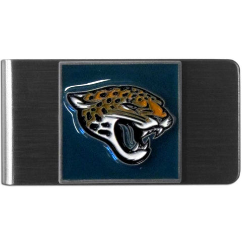 Jacksonville Jaguars Stainless Steel Money Clip