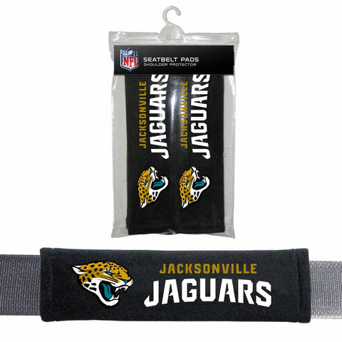 Jacksonville Jaguars Seat Belt Shoulder Pad Covers
