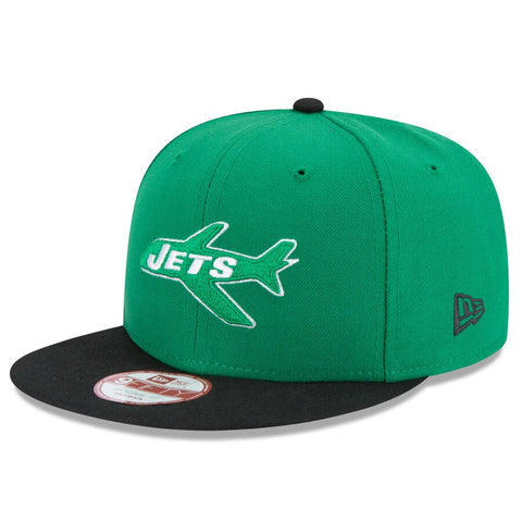 New York Jets Snapback New Era 9Fifty Baycik OG Fit Cap Hat Green Black