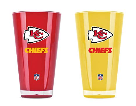 Kansas City Chiefs Insulated Tumbler Set Twin Pack