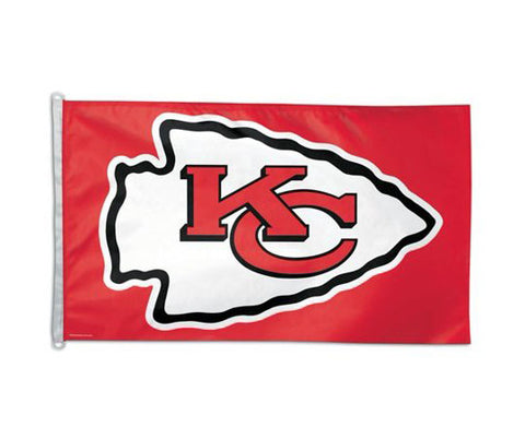 Kansas City Chiefs Bar Home Decor 3' X 5' Flag Logo