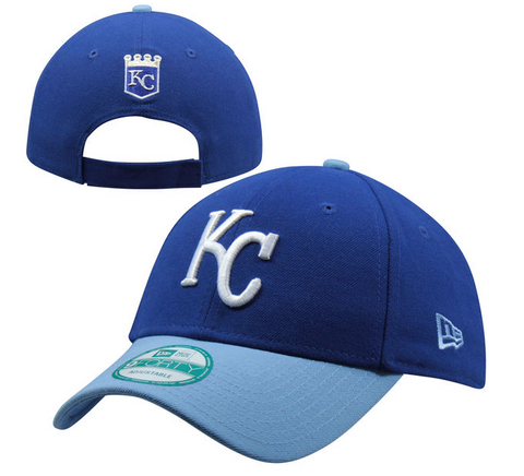 Kansas City Royals Velcro New Era 9Forty Adjustable The League Cap Hat