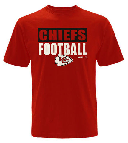Kansas City Chiefs Mens T-Shirt 47 Brand Football Red