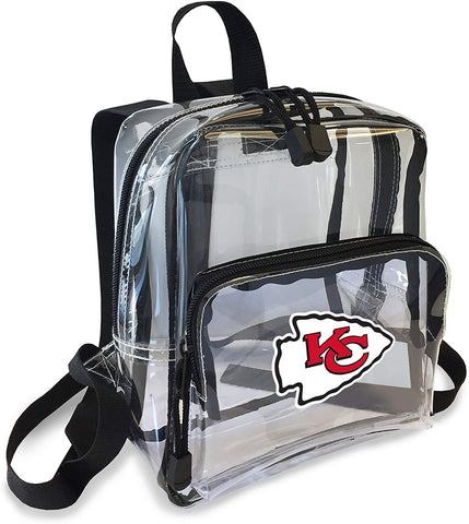 "Kansas City Chiefs ""X-Ray"" Mini Transparent 9"" Backpack"