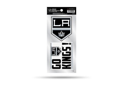 Los Angeles Kings Double Up Die Cut Sticker 2pc