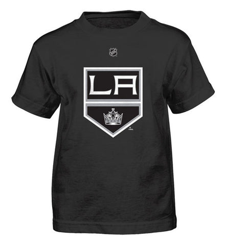 Los Angeles Kings Reebok Kids (4-7) Shield Logo T-Shirt Black