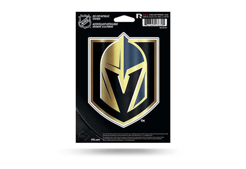 Vegas Golden Knights Decal Metallic Die Cut Sticker