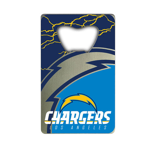 Los Angeles Chargers Credit Card Style Bottle Opener