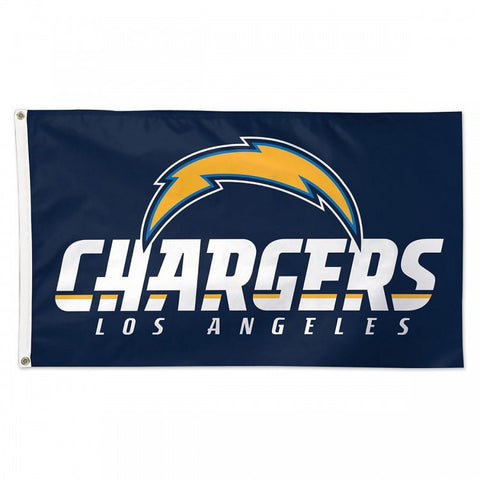 Los Angeles Chargers Bar Home Decor 3' X 5' Flag Logo