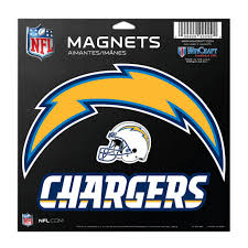 Los Angeles Chargers Vinyl Magnet 3 Piece