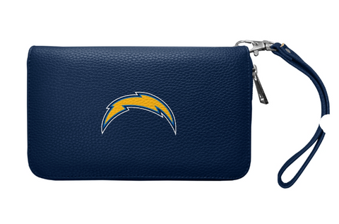 Los Angeles Chargers Womens Wallet Pebble Organizer