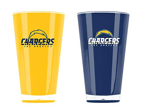 Los Angeles Chargers Insulated Tumbler Set Twin Pack